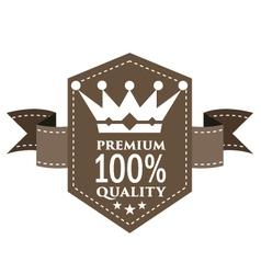 EMBLEM PREMIUM QUALITY vector