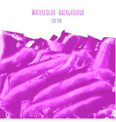 Fuchsia purple lilac grunge marble watercolor vector