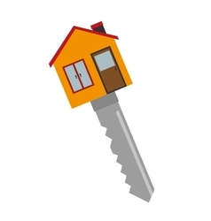 key house fund icon vector image