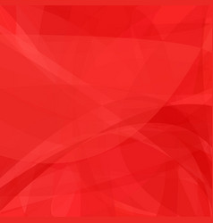 Red abstract background from dynamic curves vector