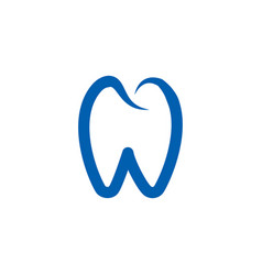 tooth logo icon template vector image