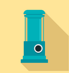Water pump icon flat style vector