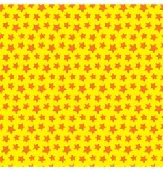 Seamless star texture Orange yellow background vector image vector image