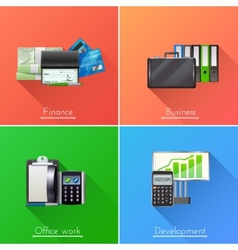 Business Design Concept Set vector