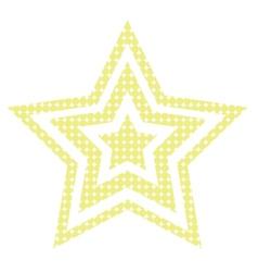 Disco Star vector image