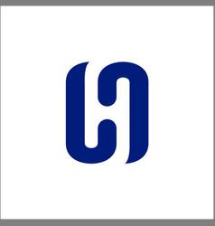 letter h initial h logo design inspiration vector image