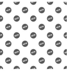 new sign pattern seamless vector image