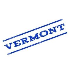 Vermont Watermark Stamp vector