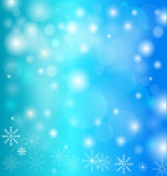 Celebration Emergence the Invitation Sexual Snow W vector image vector image