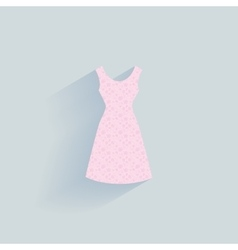 Abstract clothes object vector image