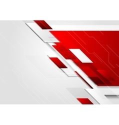 Abstract tech corporate brochure background vector