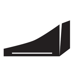 City skate park icon simple style vector