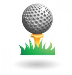 golfball vector image