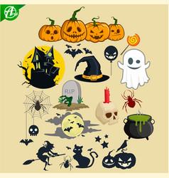 Halloween bundle vector