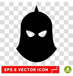 Knight Helmet Eps Icon vector image
