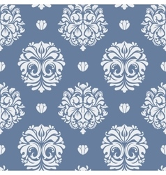Victorian baroque background vector image