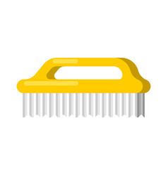 washing brush isolated cleaning accessory cleaner vector image