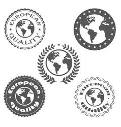 European quality vector image