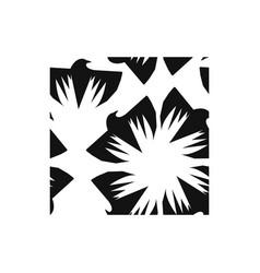 black raven seamless vector image