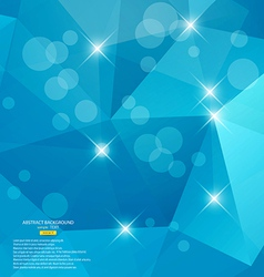 abstract triangle vector image