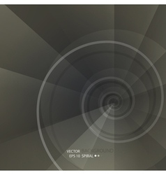 Background with spiral vortex vector