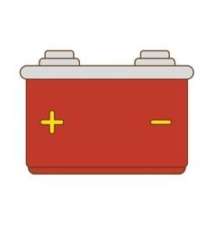 Battery car power vector