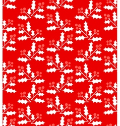 Christmas geometric seamless pattern vector image