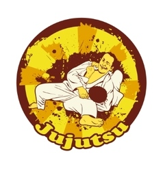 Colorful with Brazilian Jiu vector