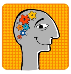 Creative thoughts vector image