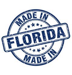 Made in florida vector
