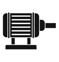 Motor pump irrigation icon simple style vector