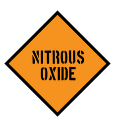 Nitrous oxide sign vector