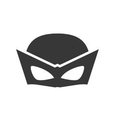 Superhero superman mask design vector