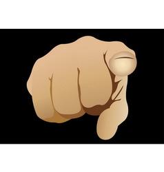 Finger vector