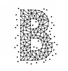 AlphabetOfPointsB vector