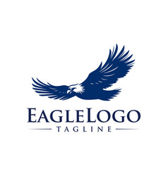 Eagle icon logo design template vector