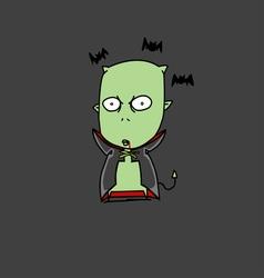 Halloween dracula vector