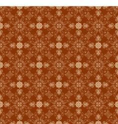 ornate wallpaper pattern vector image