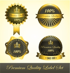 Premium Quality Label vector image