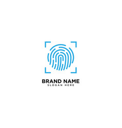 Touch id fingerprint scanning secure access vector