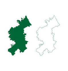 Vizianagaram district andhra pradesh state vector