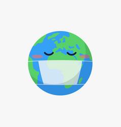 World global coronavirus covid 19 pandemic themed vector
