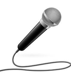 karaoke microphone vector image