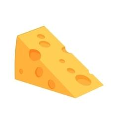 Icon web cheese vector image vector image