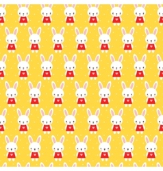 Seamless pattern in cartoon style vector image vector image