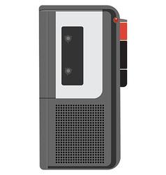 Voice recorder vector image