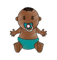 Baby boy vector
