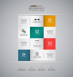 design infographics 3 vector image