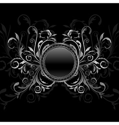 ornamental medallion vector image