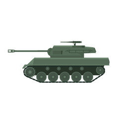 Tank american world war 2 gun motor carriage m18 vector